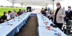 Başkan Mansur Yavaş Sulu tarım projesi için çiftçilerle bir araya geldi!