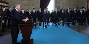 Cumhurbaşkanı Erdoğan: Doğu Akdeniz'de şantaj diline boyun eğmeyeceğiz