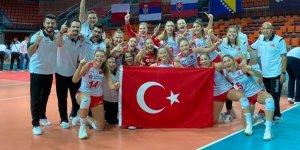 Türkiye 19 Yaş Altı Kız Voleybol Milli Takımı, Avrupa şampiyonu oldu