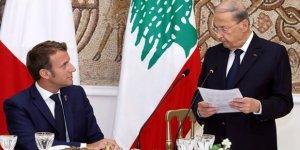 Macron Beyrut ziyaretini tehditlerle sonlandırdı