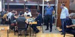 Kahvehaneye corona virüs baskını: 78 bin lira ceza