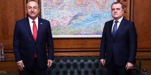 Dışişleri Bakanı Çavuşoğlu Azerbaycan'da! Ermenistan insanlık suçu işliyor