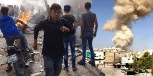 Suriye'de bomba yüklü kamyonla saldırı! Ölü ve yaralılar var