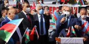 Cumhurbaşkanı Başdanışmanı Topçu: Azerbaycan devlet-millet tek yürek 'ya Karabağ, ya ölüm' diyor!