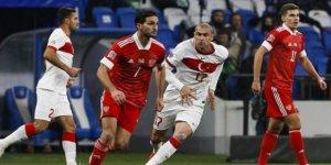 UEFA Uluslar Ligi'nde Türkiye Rusya ile berabere kaldı!