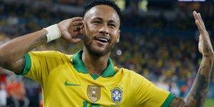 Neymar, Brezilya'nın 2. en çok gol atan oyuncusu oldu!