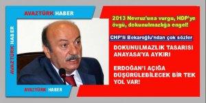 CHP'li Bekaroğlu: Dokunulmazlık tasarısı Anayasa'ya aykırı!