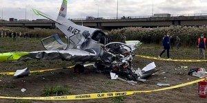 Büyükçekmece'de düşen uçağın pilotundan acı haber