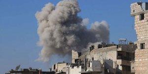 Rus savaş uçakları İdlib'de Suriye Milli Ordusu güçlerini vurdu!