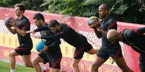 Galatasaray'da MKE Ankaragücü maçı hazırlıklarına devam edildi