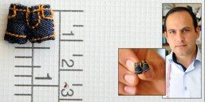 Konyalı terzi 9 milimetrelik kot pantolonu dikti
