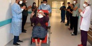 Uludereli Menica Encü koronavirüs hastalarına umut oldu! 120 yaşında hastalığı yendi