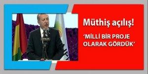 Erdoğan EXPO 2016 açılışında önemli açıklamalar!