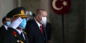 Cumhurbaşkanı Erdoğan ve devlet erkanı Anıtkabir'de