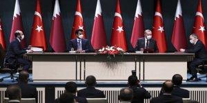 Türkiye-Katar arasında 10 anlaşma imzalandı