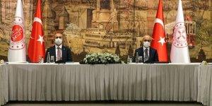 Bakan Elvan ve Gül reform görüşmelerine başladı