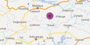 Malatya'da 4,7'lik deprem