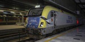 Çin'e giden ihracat treni Ankara'dan geçti