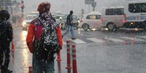 Doğu Anadolu'daki 5 ilde karla karışık yağmur ve kar bekleniyor!