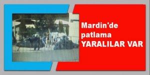 Mardin'de patlama: Ambulanslar olay yerine sevk edildi