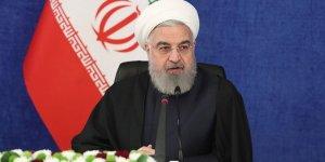 İran Cumhurbaşkanı Ruhani: Trump'ın gidişinden çok mutluyuz!
