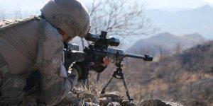 Azez'e taciz ateşinde bulunan 7 terörist etkisiz hale getirildi