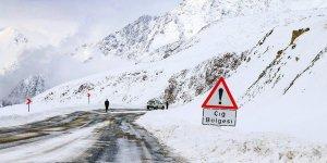 Meteorolojiden Doğu bölgeleri için çığ uyarısı!