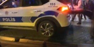 Kadıköy'de polise saldıran 5 kişi yakalandı