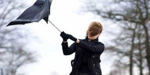 Meteorolojiden 5 il için kuvvetli rüzgar ve fırtına uyarısı!