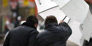 Meteorolojiden 7 il için kuvvetli rüzgar ve fırtına uyarısı!