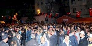 Nusaybin şehidini binlerce hemşehrisi karşıladı