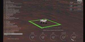 NASA kaşifi Kızıl Gezegen'e indi