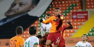 Galatasaray, Alanya'dan 3 Puanla Dönüyor
