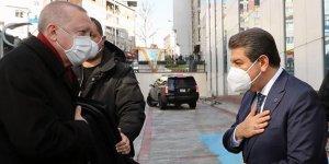 Cumhurbaşkanı Erdoğan, Esenler Belediyesi'ni ziyaret etti!