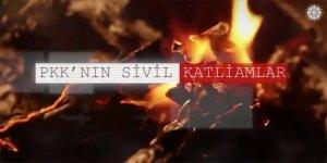 İletişim Başkanı Altun, PKK'nın sivil katliamlarına yönelik video paylaştı