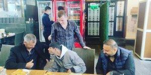 Ünlü Gazeteci Ferhat Aydoğan Hiko Babayı ziyaret etti