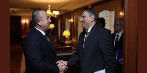 Dışişleri Bakanı Çavuşoğlu, eski Suriye Başbakanı Hicab'la bir araya geldi