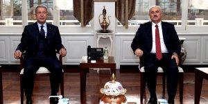 Yargıtay Başkanı Akarca, Milli Savunma Bakanı Akar'ı ziyaret etti