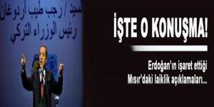 İşte Erdoğan'ın işaret ettiği Mısır konuşması!