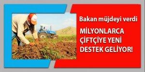 Milyonlarca çiftçiye müjdeli haber!