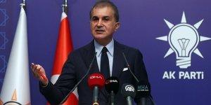 """AK Parti Sözcüsü Çelik: """"Seçilmiş siyasi iradeye yönelik kullanılan bu ilkel dili kınıyoruz"""""""