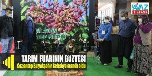 GAP Tarım Fuarı'nın gözdesi Gaziantep Büyükşehir standı oldu