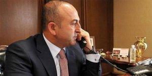 Dışişleri Bakanı Çavuşoğlu, Irak Türkmen Cephesi Başkanı Turan'la görüştü