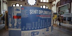 İletişim Başkanlığı tarafından düzenlenen 'Şehit Diplomatlar Sergisi' açıldı