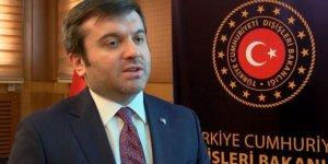 Dışişleri Bakan Yardımcısı Kıran'dan, Fransa'da Türk belediye meclis üyesinin istifaya zorlanmasına tepki gösterdi