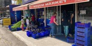 Antalya Serik'te 'dayanışma' örneği: İhtiyaç sahibi vatandaşa ücretsiz sebze