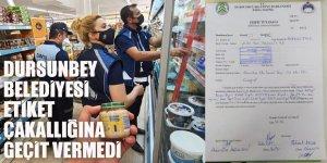 """Balıkesir Dursunbey Belediyesi A101'in """"etiket çakallığına"""" geçit vermedi"""