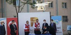 Balıkesir'de 10 bin su sayacı drone ile havadan okunuyor