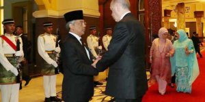 Cumhurbaşkanı Erdoğan, Malezya Kralı Sultan Abdullah Şah ile telefonda görüştü