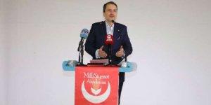 Yeniden Refah Partisi Genel Başkanı Erbakan, Antalya'da partisinin Milli Siyaset Akademisi programına katıldı